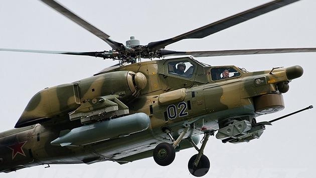Helicópteros y aviones rusos regresan al mercado de armas de Irak