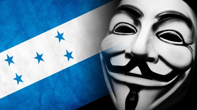 Anonymous, al ataque contra decenas de páginas web gubernamentales de Honduras