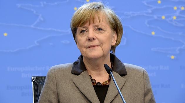 """A Merkel """"no le interesa"""" aplicar sanciones económicas a Rusia"""