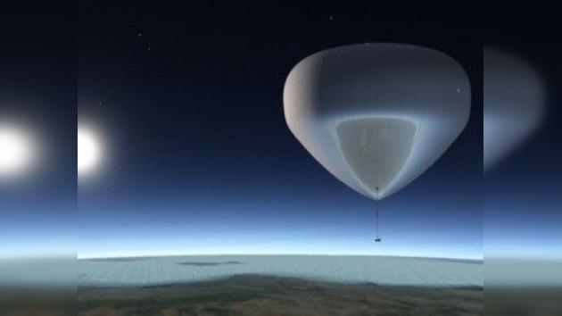 Nuevo turismo espacial en globo aerostático