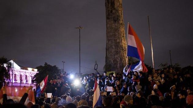 La ola de protestas de Brasil 'rompe fronteras' y ya salpica a Paraguay