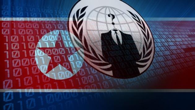 Anonymous ataca un portal de noticias oficialista de Corea del Norte