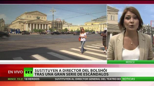 Relevado el director del teatro Bolshói