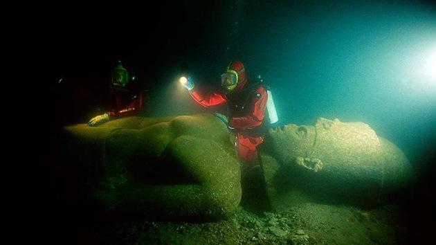 Video: Reproducen en 3D una ciudad del Antiguo Egipto hundida hace 1.200 años