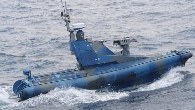 Primera embarcación no tripulada de la Marina israelí rastrea el mar