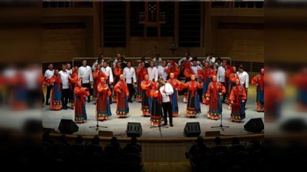 Aclaman al coro ruso en México