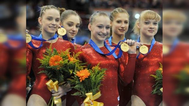 Después de 8 años las gimnastas rusas vuelven a ser las mejores