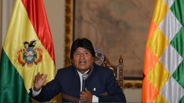 Evo Morales denuncia que EE.UU. planea un golpe de Estado en Venezuela