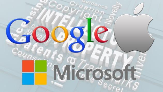 Microsoft y Apple inician una guerra de patentes contra Google