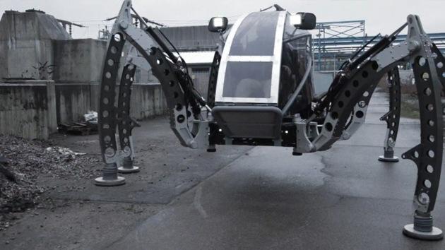 Video: Mantis, el 'robot araña' todoterreno más grande del mundo