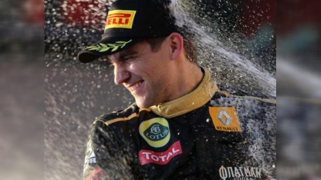 El podio de Vitali Petrov en la F1 podría atraer a nuevos inversores rusos