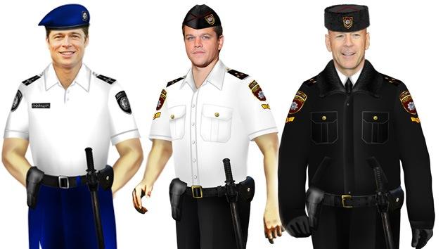 FOTO, VIDEO: Estrellas de Hollywood 'visten' los nuevos uniformes de la policía ucraniana