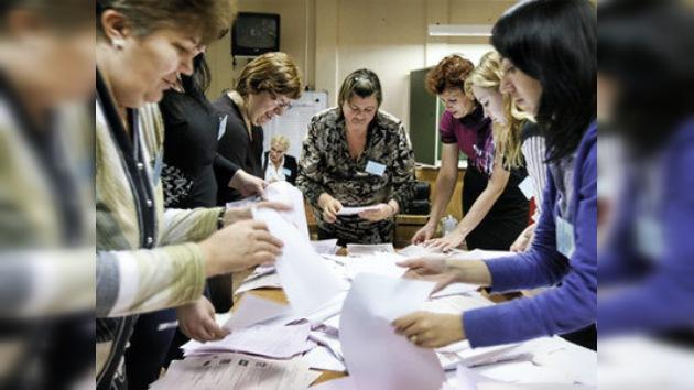 El partido Rusia Unida es favorito en las elecciones