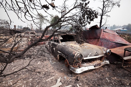 Rusia, devastada por los incendios