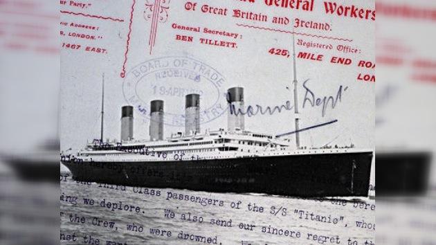 Salen a flote 200.000 datos de pasajeros del Titanic