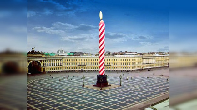 San Petersburgo celebra con gran pompa su 307 cumpleaños
