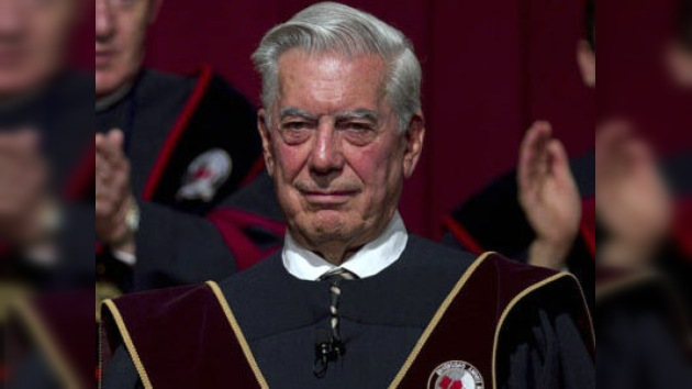 Vargas Llosa apoya a Ollanta Humala en Perú