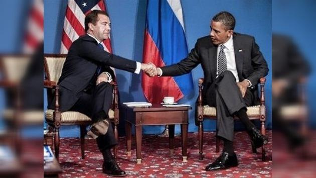 Medvédev y Obama acuerdan la creación del sistema de defensa antimisiles conjunto