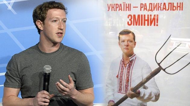 Mark Zuckerberg podría financiar a un candidato radical a la presidencia de Ucrania