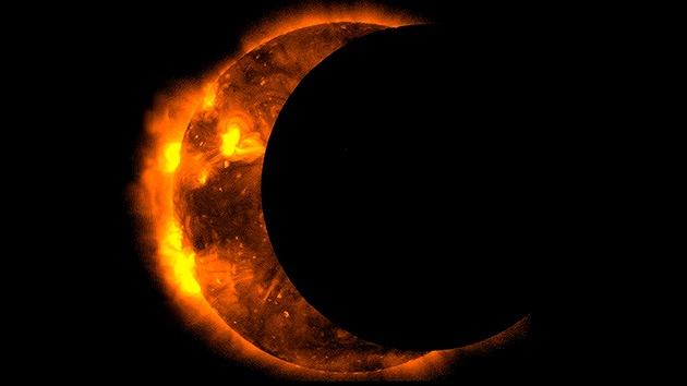 Último eclipse solar parcial del año a la vista