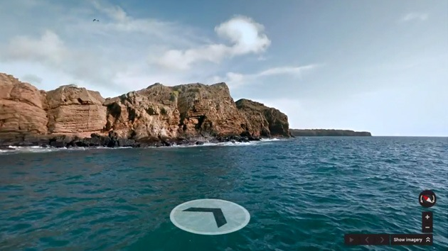 Video: Google se da una vuelta virtual de 360º por las Islas Galápagos
