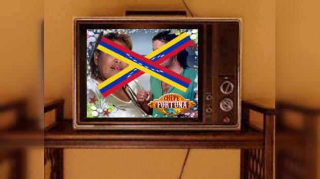 "Retiran una telenovela colombiana en Venezuela por ""xenófoba"""