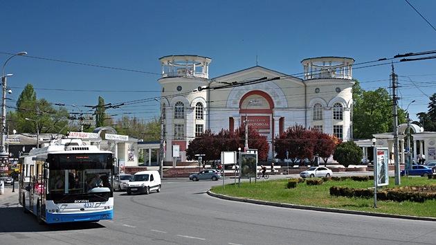Explota un auto cerca de un hospital en Simferópol, Crimea