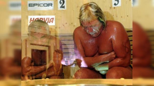 Muerte en el sauna