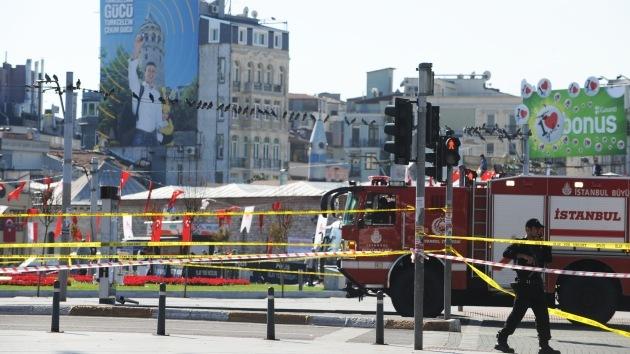 Una fuerte explosión se produjo en el centro de Estambul