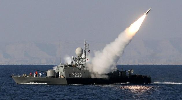 Irán blande un nuevo sistema naval de lanzamiento de misiles