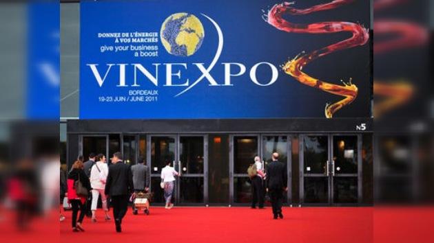 Presentan en Burdeos la mayor exposición de vinos