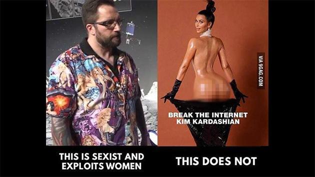 """Ganan terreno en la Red los defensores del experto de Rosetta que vistió una camisa """"sexista"""""""