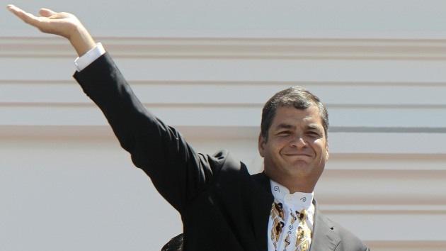 Rafael Correa encabeza ranking de popularidad de los líderes americanos