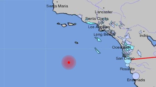 Se deja sentir en California un terremoto de 6,3 grados de magnitud