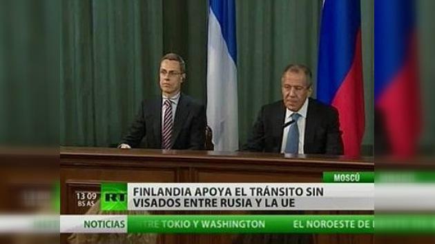 Finlandia apoya el tránsito sin visados entre Rusia y la UE