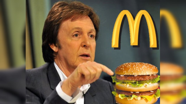 Paul McCartney gana una demanda contra McDonalds