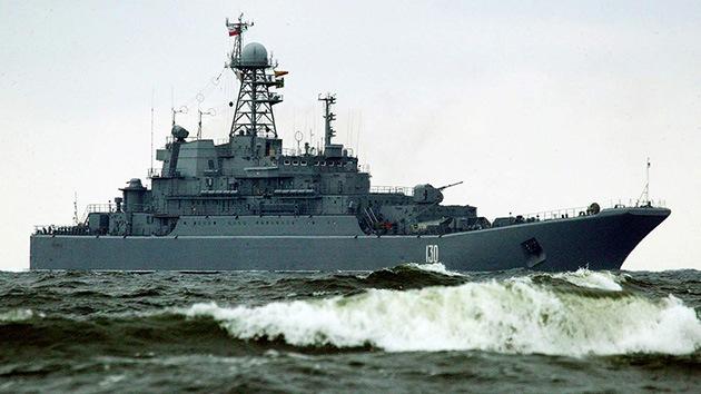 La Armada rusa 'ronda' su base en Siria