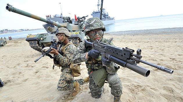 Vídeo: EE.UU. y Seúl siguen con sus ejercicios navales pese a la creciente tensión nuclear