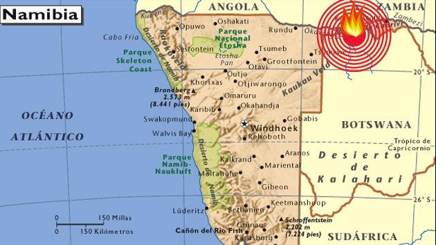 Hallan estrellado el avión 'desaparecido' en África con 33 personas muertas a bordo