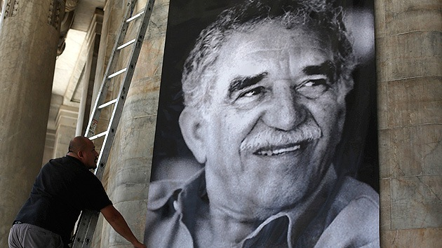 Video, fotos: Homenaje de despedida a García Márquez