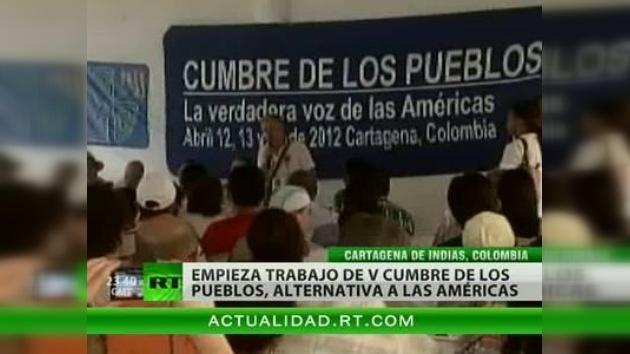 Arranca en Colombia la Cumbre de los Pueblos, antagonista de la de las Américas