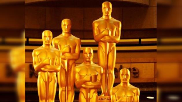 'The Artist' y 'Hugo' triunfan en la gala de los Oscar 2012