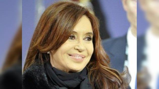 Cristina Fernández de Kirchner  toma posesión ante la Asamblea Legislativa