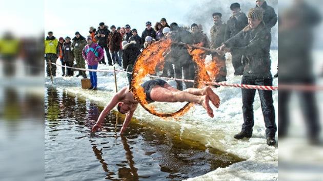 Natación en agua helada, probable deporte olímpico