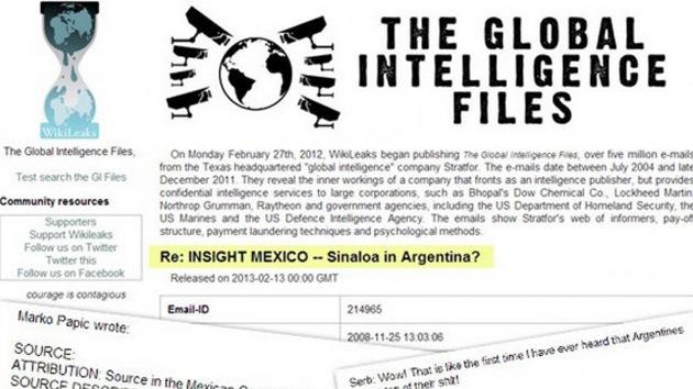WikiLeaks filtra documentos sobre la presencia en Argentina del Cártel de Sinaloa