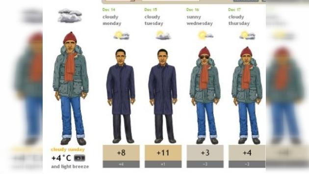 Un nuevo sitio web meteorológico se convierte en un 'boom' en Internet