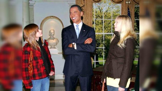 Las Vegas presenta la estatua de cera de Barack Obama