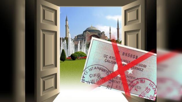 Comienza régimen sin visas entre Rusia y Turquía