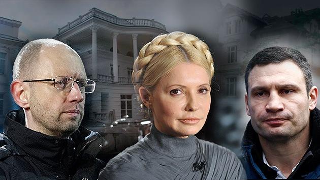 Fotos: Revelan las lujosas propiedades de los 'líderes del Euromaidán'