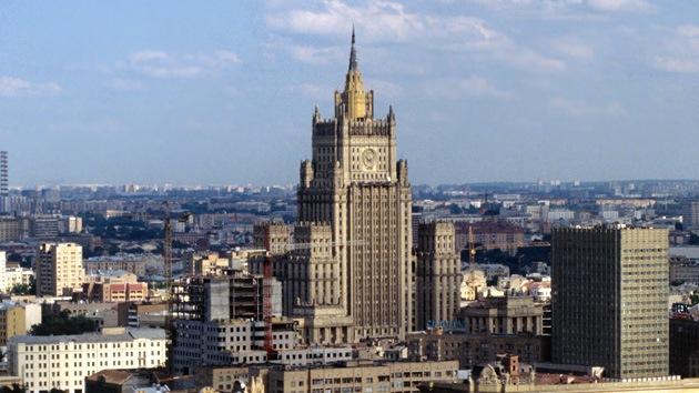 Cancillería rusa: Washington sustituye lo real por lo deseado en la crisis ucraniana